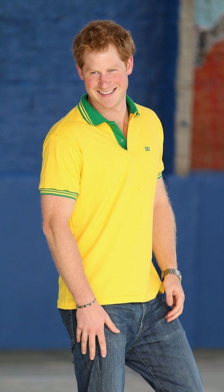 Принц Гарри в Бразилии @ Getty Images/Fotobank