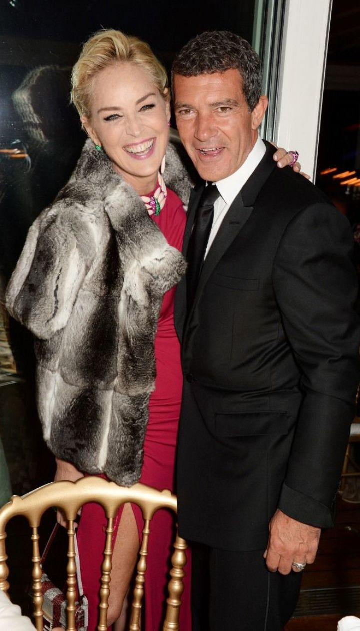 Шерон Стоун и Антонио Бандерас @ Getty Images/Fotobank