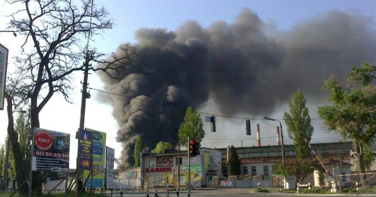 Пожар в Киеве @ Фан-сайт Металіста