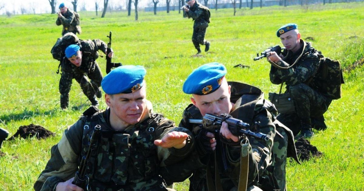 Фото вдв спецназ украина