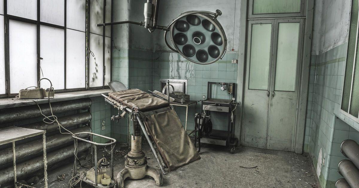 Моторошні фото психіатричної клініки West Park Hospital. @ facebook.com/odinsravenphotography