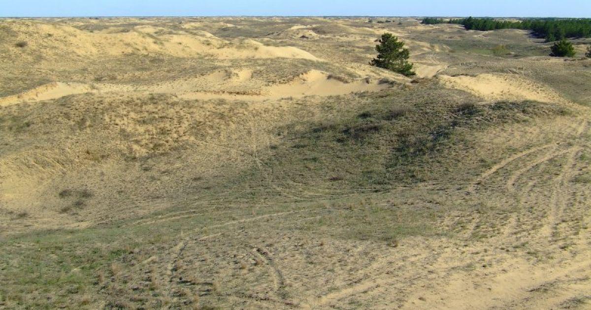 Пустыня возникла благодаря деятельности человека @ robinzon.ks.ua