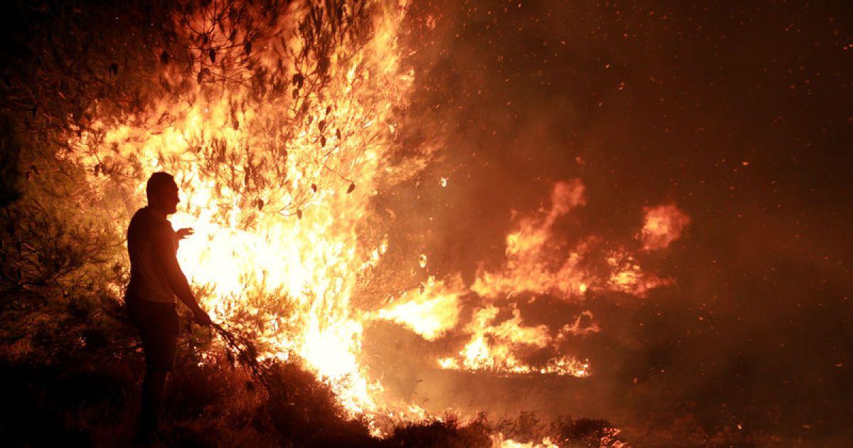 картинки пожара от солнца