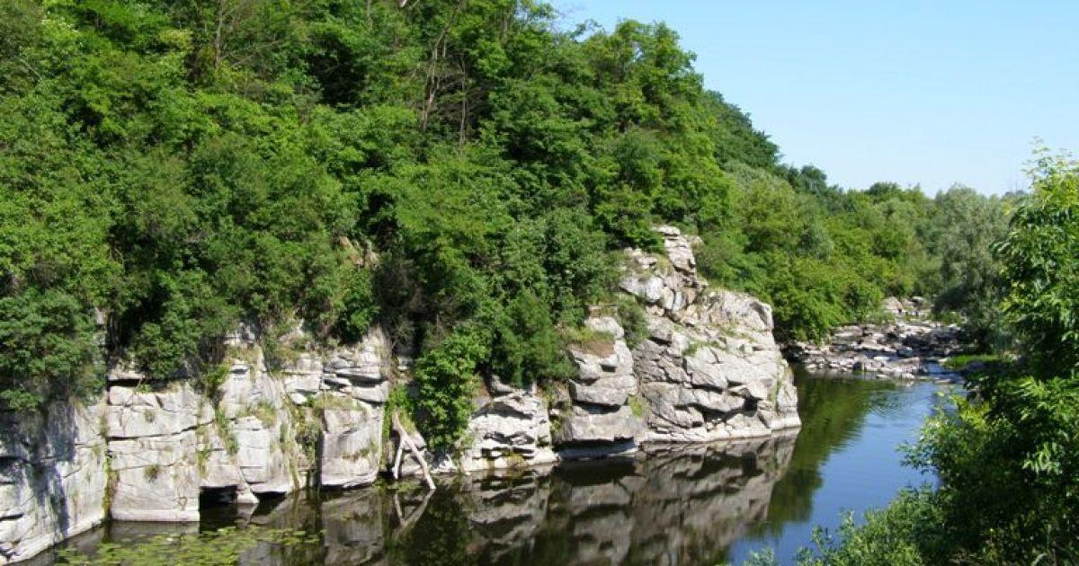 Букський каньйон - одне з найкрасивіших місць Центральної України @ facebook.com/goloskrainy
