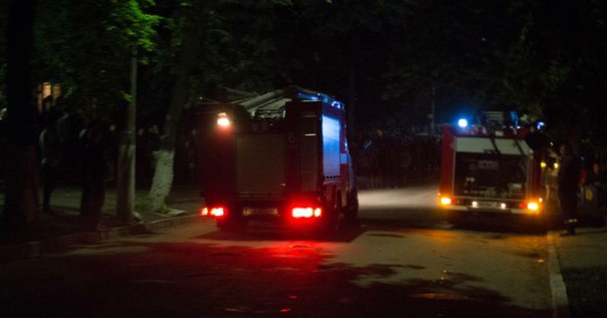У Києві горів гуртожиток КПІ: