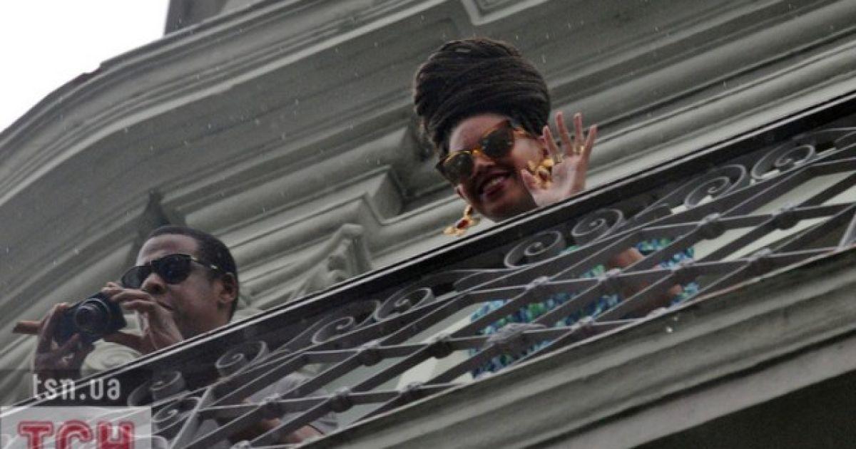 Бейонсе та Jay-Z святкують п'яту річницю сімейного життя @ Фото EPA/UPG
