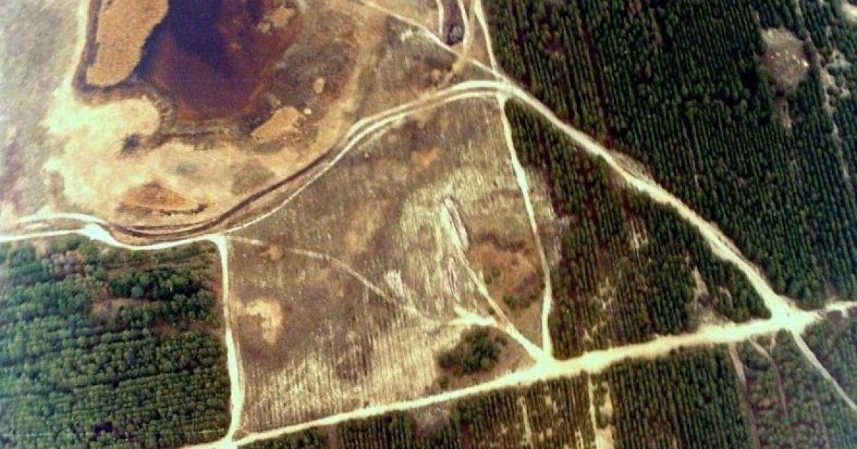 Вид Олешковских песков с высоты птичьего полета @ oleshki.jimdo.com