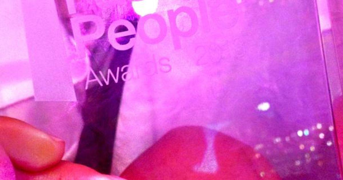 Лобода на премии Fashion People Awards @ Aram Bartholl - Blog