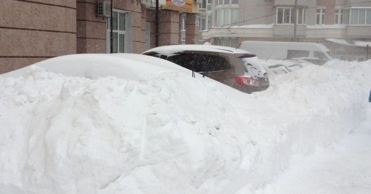В Києві оголошена надзвичайна ситуація @ Сегодня