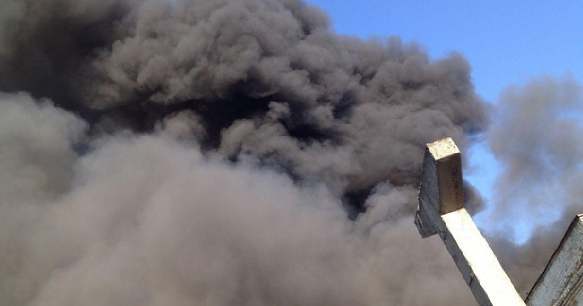 Пожар в Киеве @ youtube/НАШ ДОМ