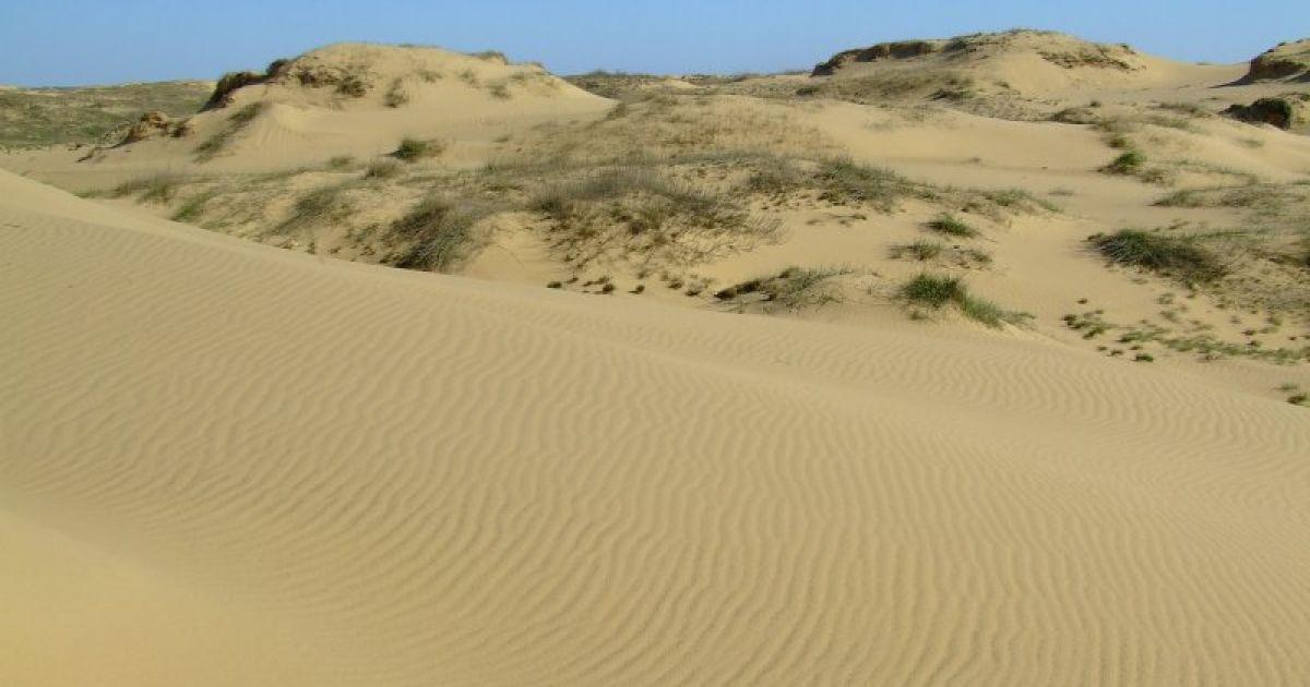 Олешковские пески являются одной из наибольших пустынь в Европе @ robinzon.ks.ua