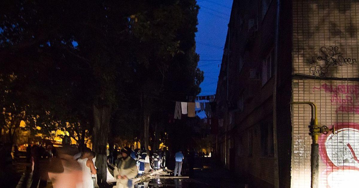 Пожежа в одеському гуртожитку @ Думская.net