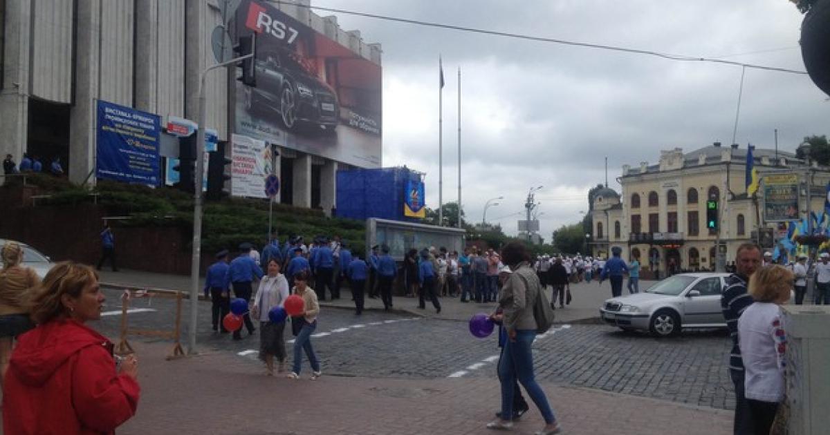 День Незалежності в Києві. @ Сегодня