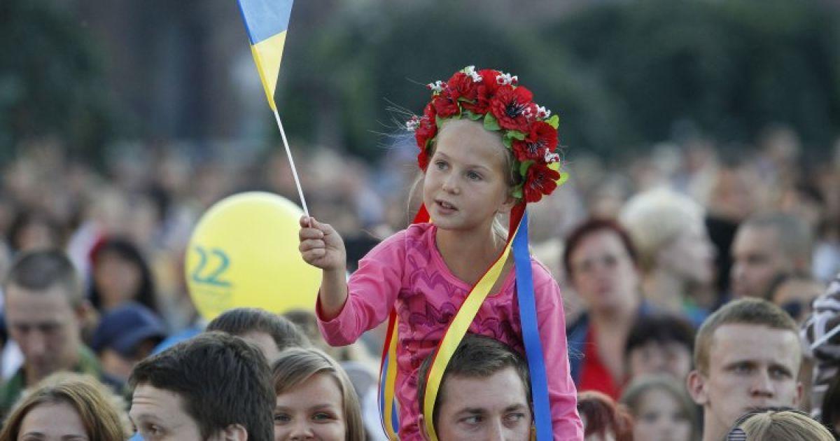 Праздничный концерт на Майдане Незалежности, 24 августа 2013 года @ УНІАН
