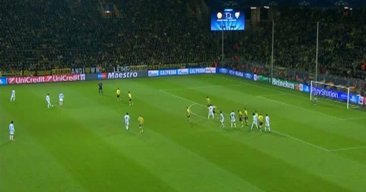 Видео обзор матча боруссия малага 3- 2
