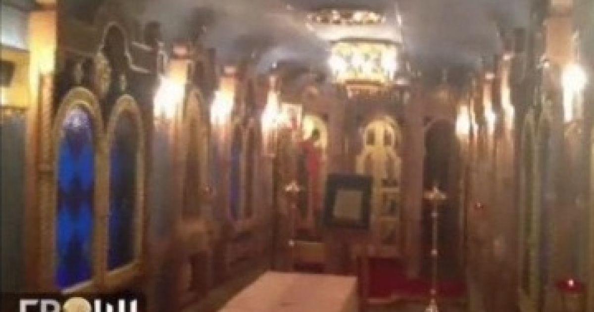Внутри поезда есть роскошный вагон-церковь @ Гроші
