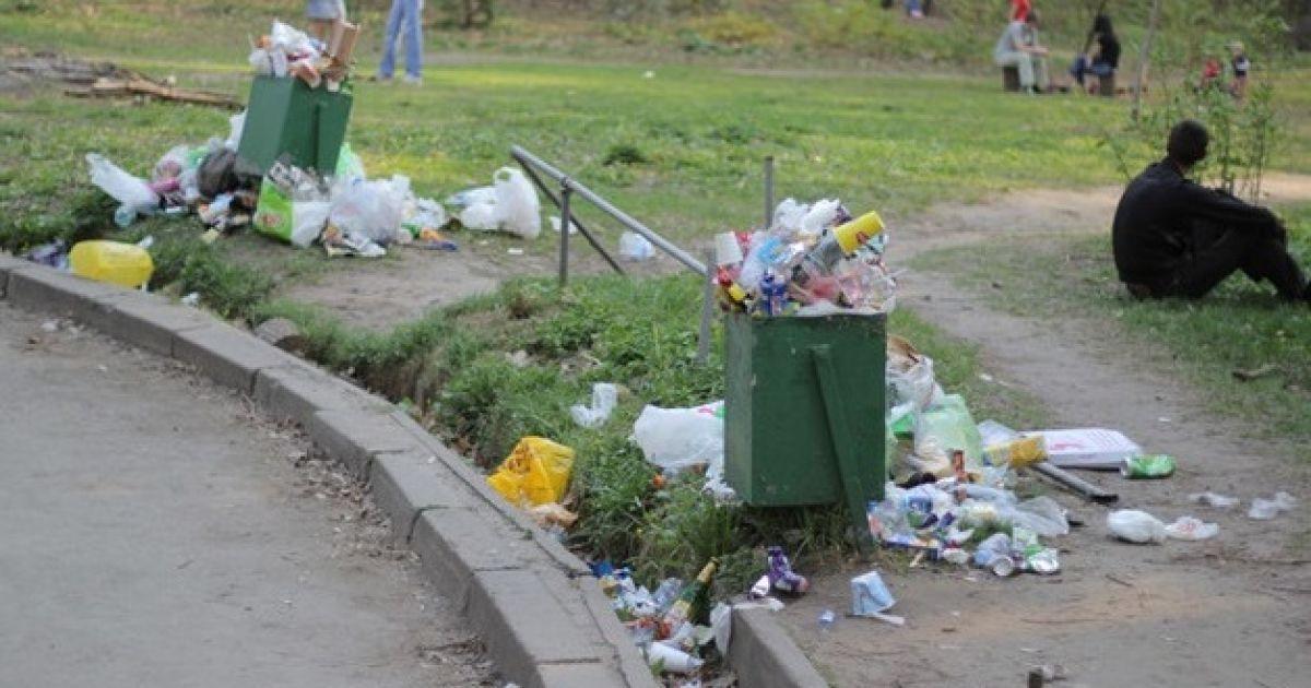 Та розчаровує купами сміття @ Сегодня/Сергій Ус