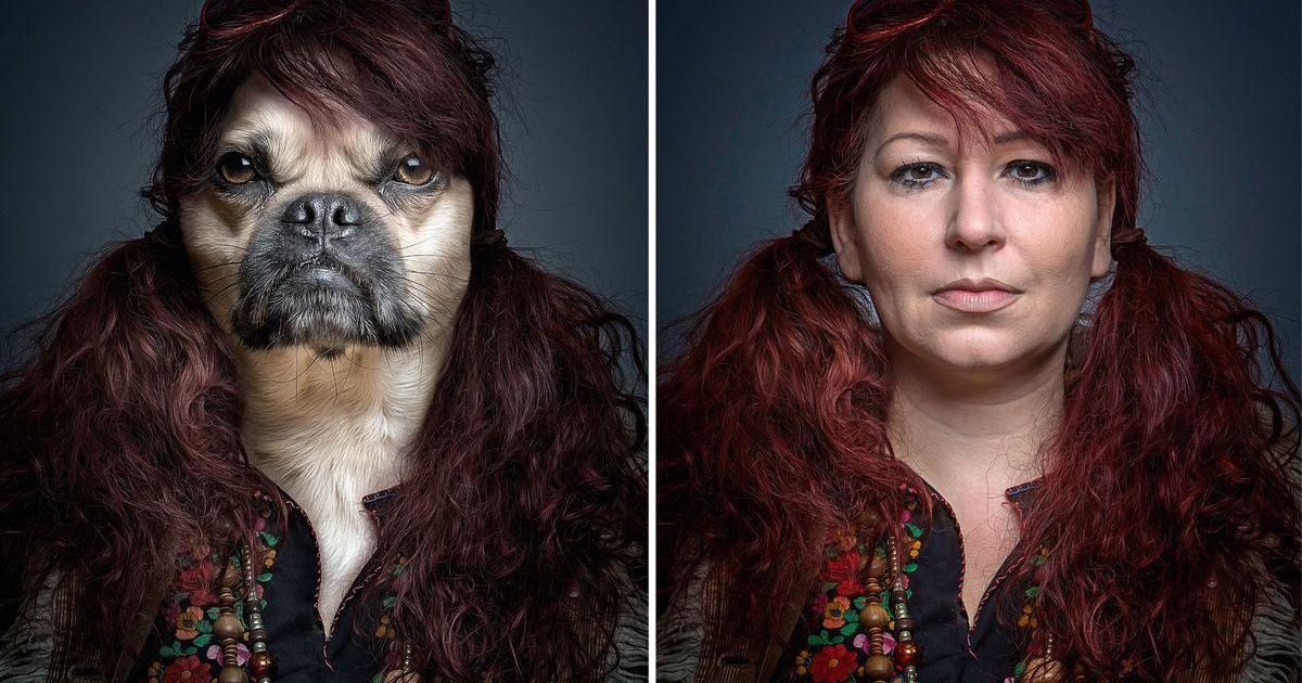 решили новом новая мода фотографироваться с мордой животных серьезное