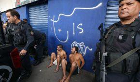 В масштабной перестрелке в Рио-де-Жанейро погибли более двух десятков человек (видео)