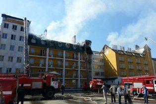 """Причини пожежі в готелі """"Верховина"""" на Київщині  назвуть за 10 днів"""