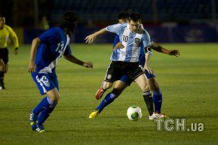Мессі побив досягнення Марадони у збірній Аргентини (відео)