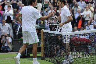 Стаховський сенсаційно переміг Федерера на Уїмблдон-2013