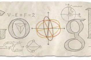 Логотип Google перетворився на листок паперу із формулами