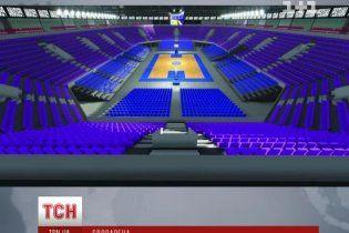 В Україні стартувала масштабна підготовка до баскетбольного Євро-2015