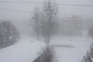 Из-за снежного апокалипсиса в Украине развернули спасательные пункты