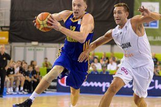 Украинская сборная по баскетболу выбилась в сильнейшие команды Европы