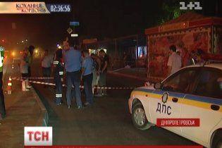 Людей на остановке в Днепропетровске сбил пьяный директор банка
