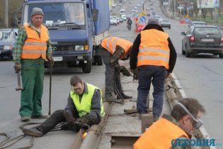 Реконструкция проспекта Победы привела к километровым пробкам
