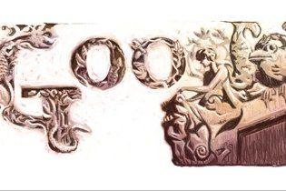 """Google отметил день рождения """"киевского Гауди"""" химерами в логотипе"""