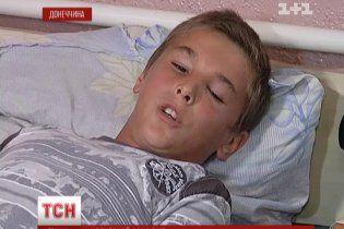 На Донетчине отец изрядно избил сверстника сына, а в школе говорят, что ребенка просто укусила оса