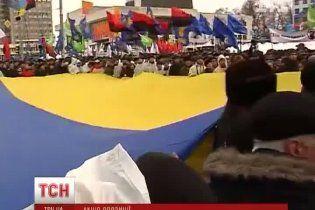 """Кличко на опозиційному """"повстанні"""" заговорив про відставку влади"""