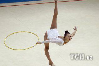 Українську гімнастку обурив конфуз з гімном Росії на чемпіонаті світу у Києві