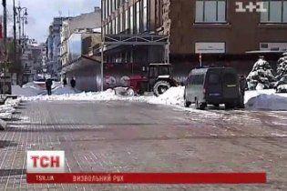"""В Киеве """"до черна"""" почистили только те дороги, по которым ездят высокие чиновники"""