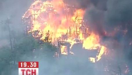В Колорадо лесные пожары перекинулись на жилые дома
