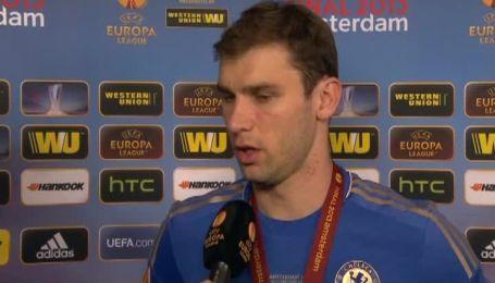Иванович: Бенфика играла классно, но мы заслужили трофей