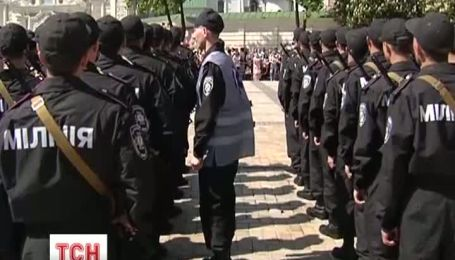 500 юнаків дали військову присягу на Софійському майдані