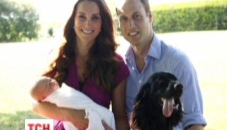 Опубликованы первые официальные фото сына принца Уильям и Кейт Миддлтон