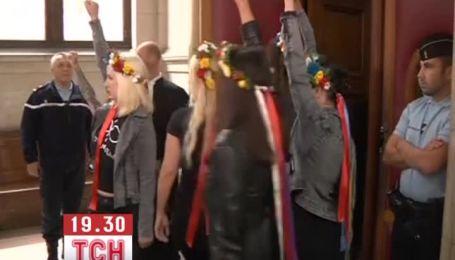 Во Франции начался суд над участниками FEMEN за акцию в Соборе Парижской Богоматери