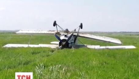 У Красноперекопському районі Криму впав літак АН-2