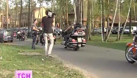 Киевские байкеры открыли мотосезон