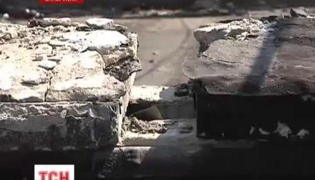 В Запорожье может провалиться под землю многоэтажка
