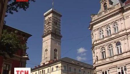 Наивысшую башню Украины закрыли на ремонт