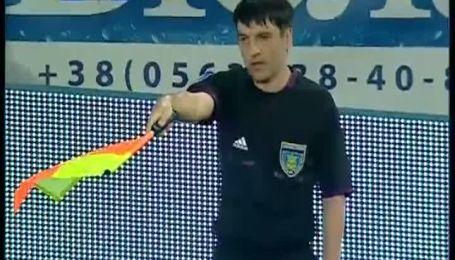 Дніпро - Ворскла - 0:1. Незарахований гол Селезньова
