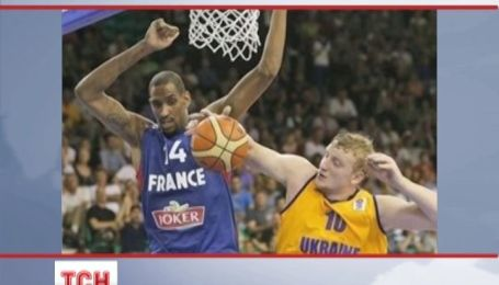 Украинские баскетболисты потерпели первое поражение на чемпионате Европы