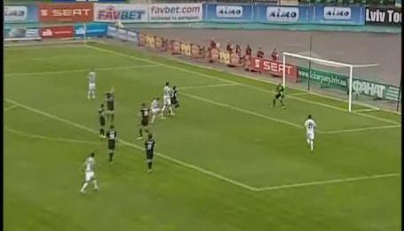 Карпаты - Заря - 0:0. Видео матча