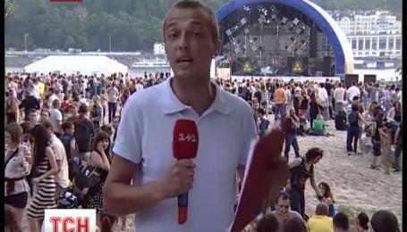 В Киеве на Трухановом острове стартовал «Рок-н-Сечь» фестиваль